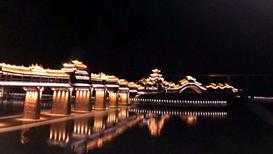江苏胶合木风雨廊桥