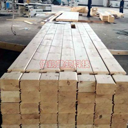 原木屋墙体材料樟子松胶合木