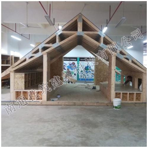 预制桁架、预制墙面、预制屋盖