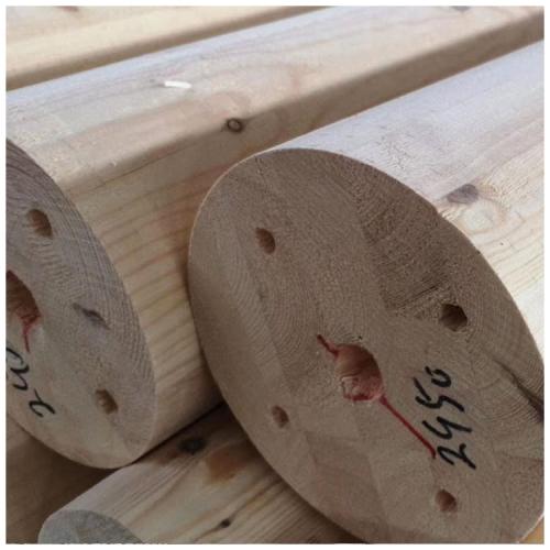 花旗松胶合木圆柱型