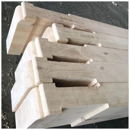 胶合木在古建中的运用