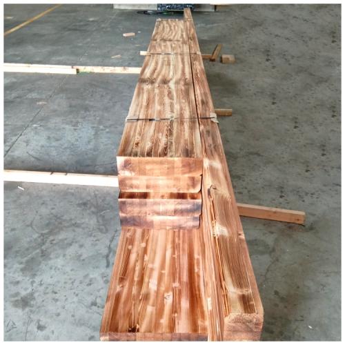 加工制作碳化木