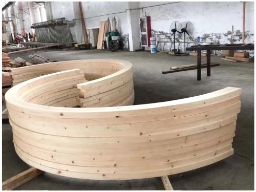 定制加工弧形胶合木