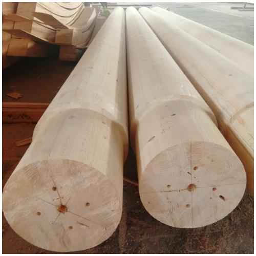 圆柱型胶合木