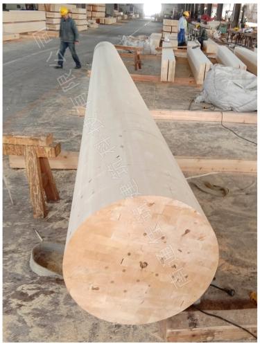 圆柱体胶合木