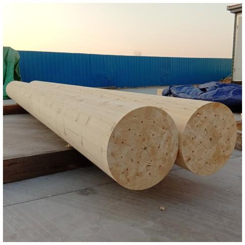 圆柱胶合木